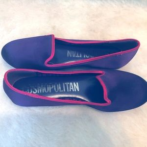 Cosmopolitan Purple and Pink Flats 8